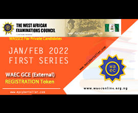 WAEC January February Gce Form