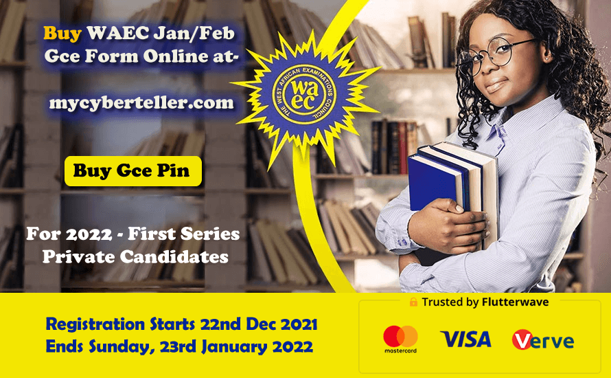 WAEC January February First Series